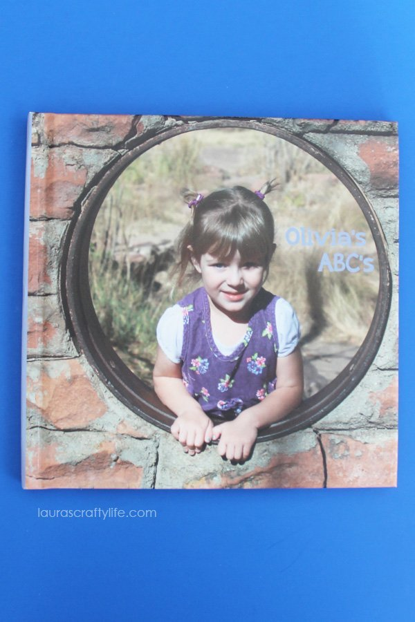 Blurb Personalized ABC Photo Book - Laura's Crafty Life