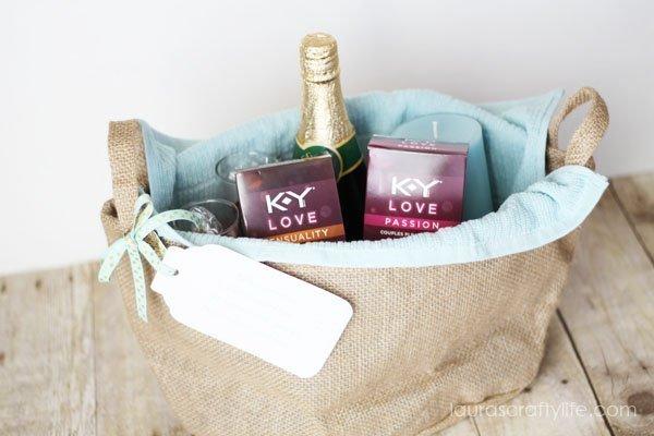K-Y® Love Valentine Gift Basket - Laura's Crafty Life #LoveOurVDay #Ad