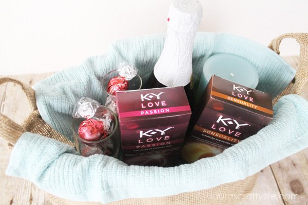 K-Y® Love Valentine Gift Basket for Him #LoveOurVDay #Ad