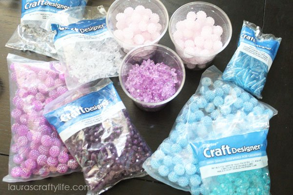 Beads from Consumer Crafts for jewelry making station