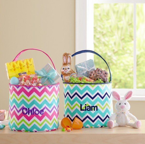 Cool Waves Easter Tote