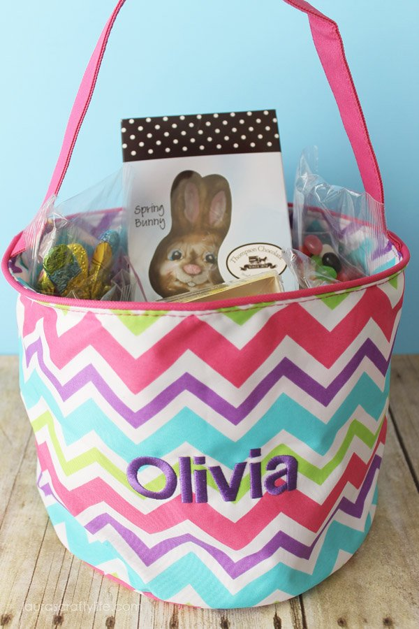 Cool Waves Easter Tote - pink