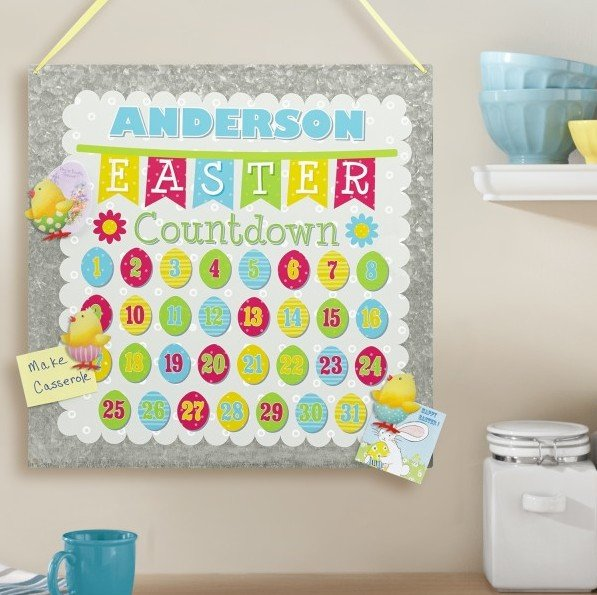 Easter Countdown Board & Magnets