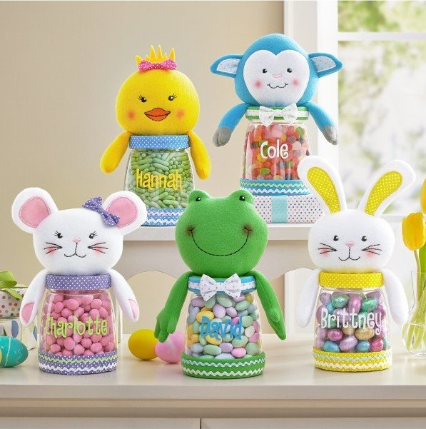 Easter Cutie Plush Treat Jar