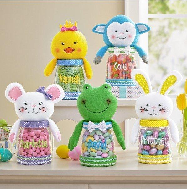 Easter Cutie Plush Treat Jar