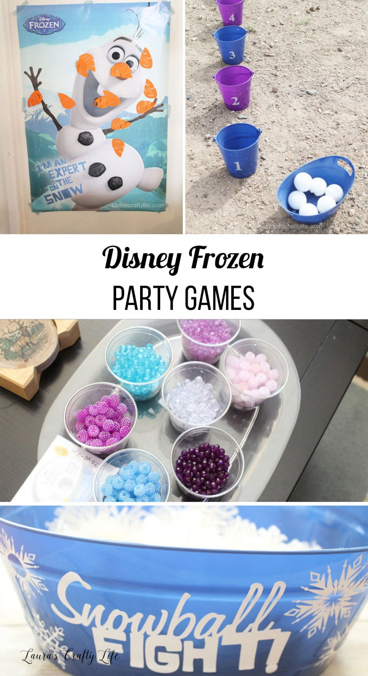 Frozen Party Games
