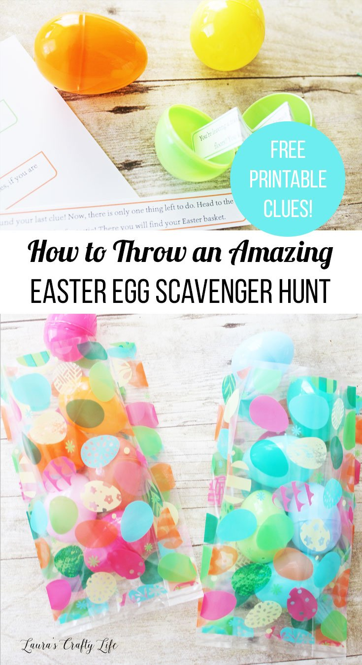 How to throw an amazing Easter egg scavenger hunt