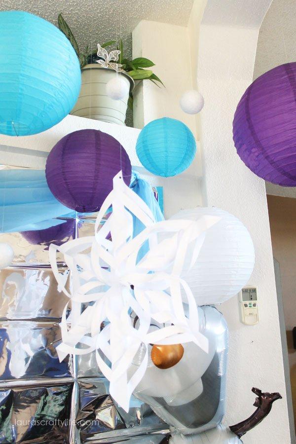 3D Paper Snowflake Decoration