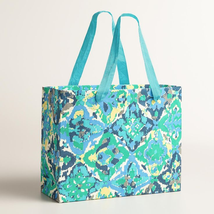 Casablanca Tiles Handmade Gift Bag - World Market