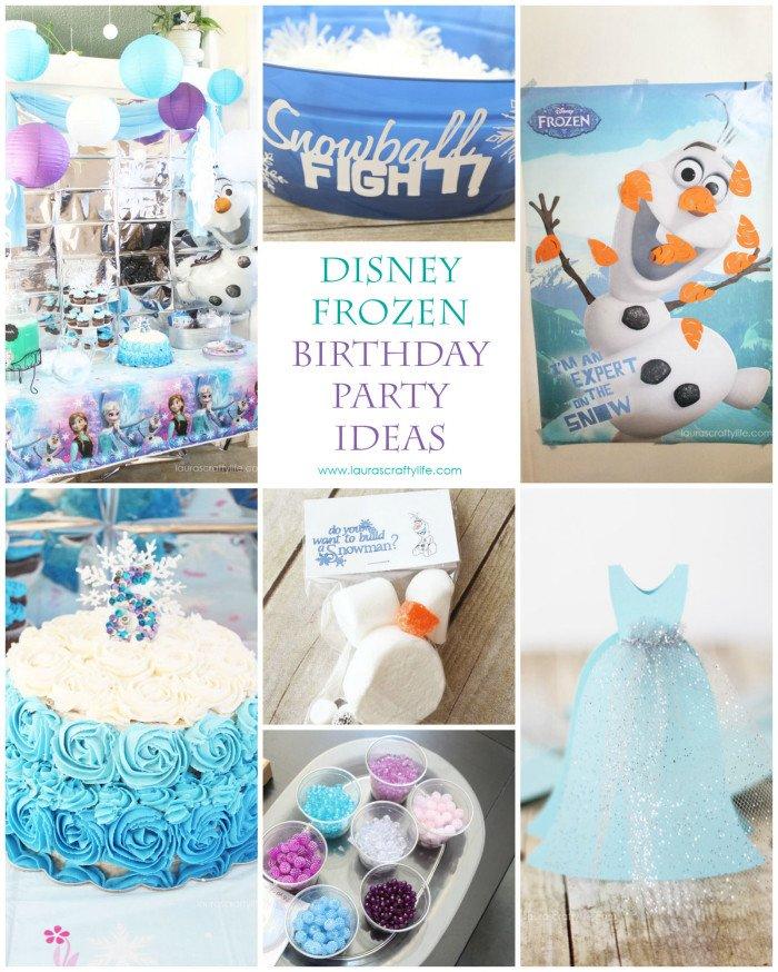 Disney Frozen Birthday Party - Laura's Crafty Life