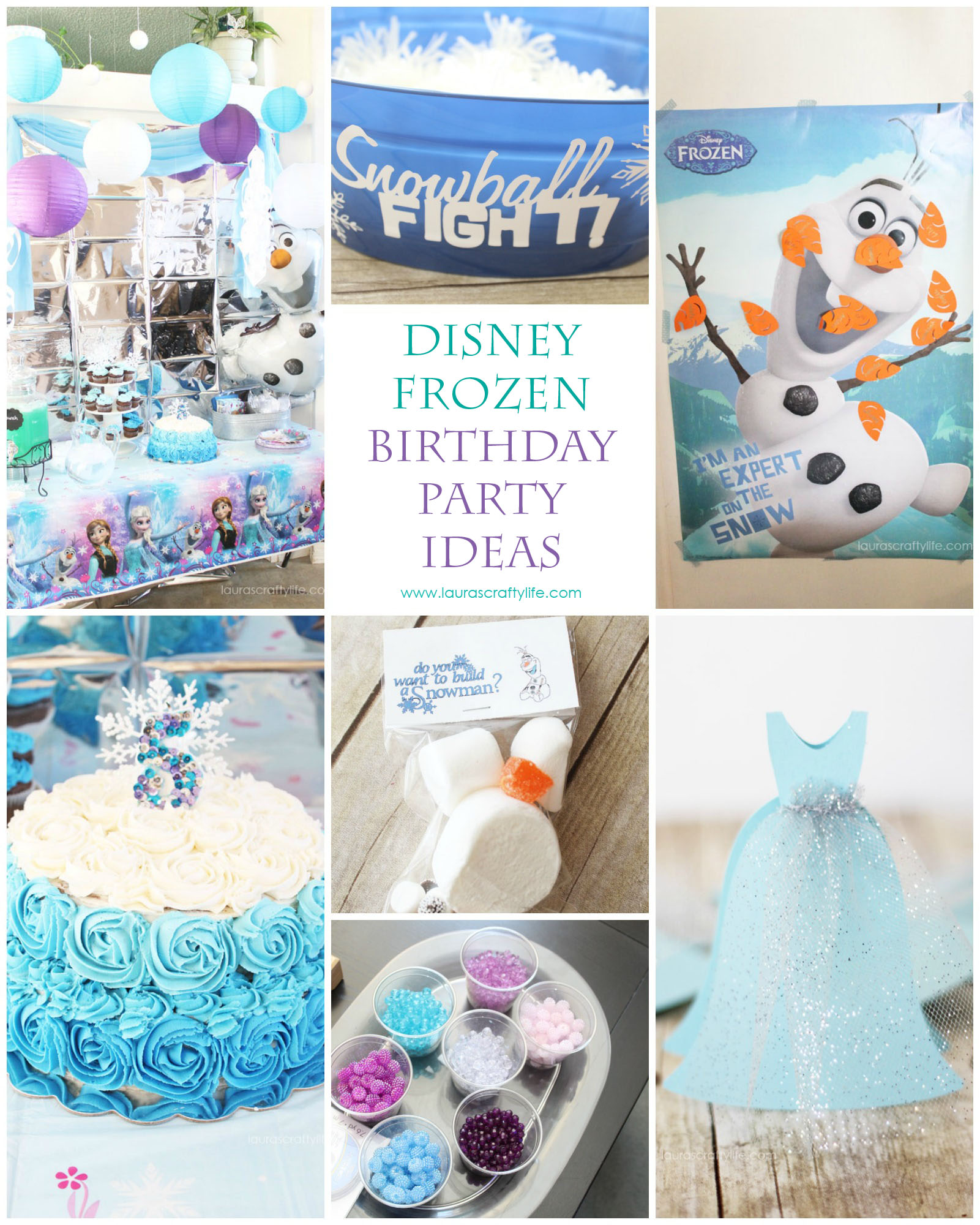 Disney Frozen Birthday Party Lauras Crafty Life
