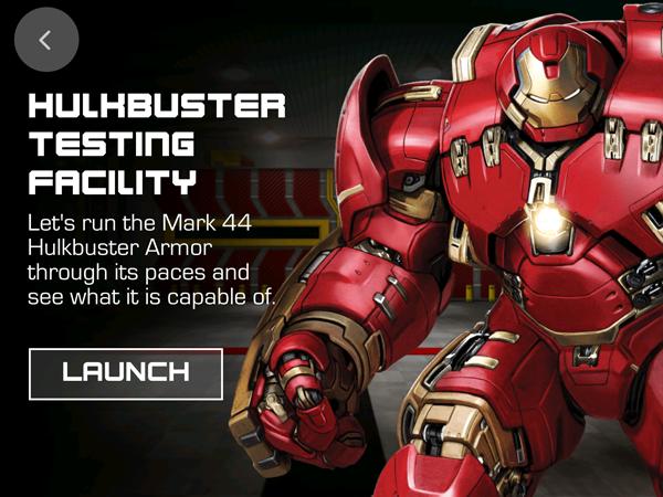 Hulkbuster Testing Facility