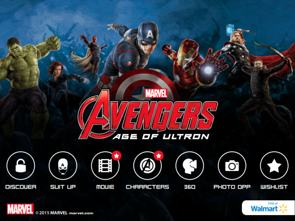 MARVEL's The Avengers- Age of Ultron Super Heroes Assemble app #Avengers Unite
