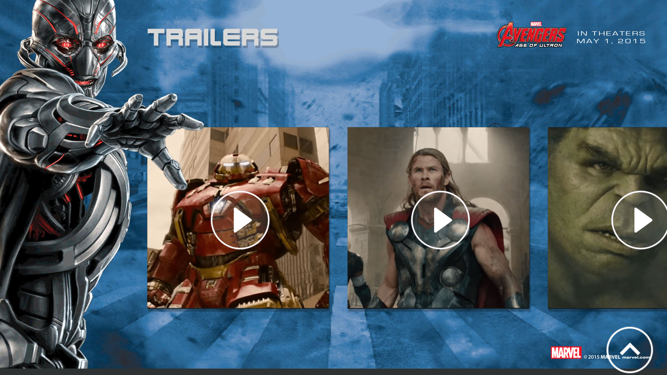 MARVEL's The Avengers - Age of Ultron movie trailers #AvengersUnite