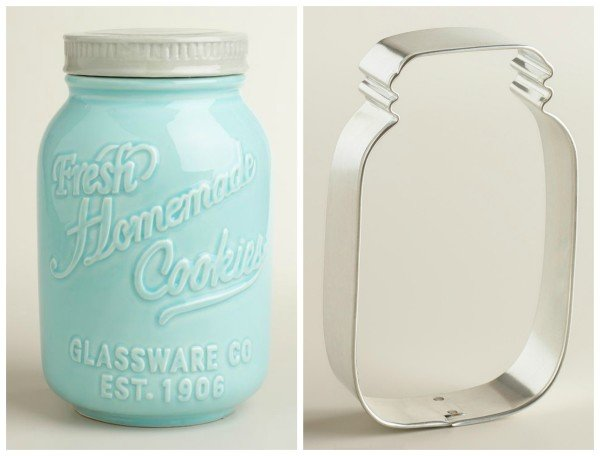 World Market Mason Jar Cookie Gift
