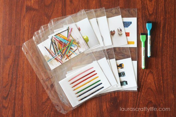 DIY I Spy Game - Laura's Crafty Life
