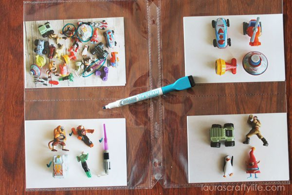 DIY Personalized I Spy Game - Laura's Crafty Life
