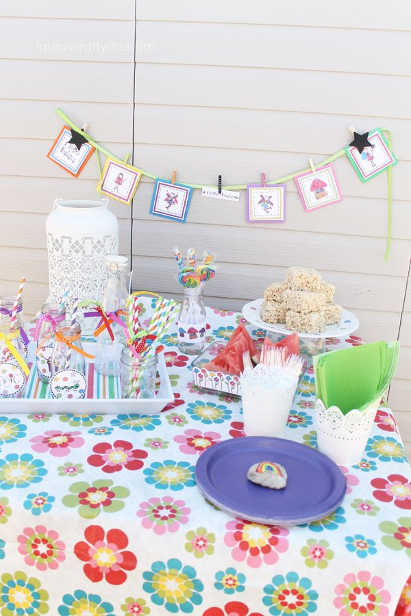 Fairy Party Printables by Shop Laura Kelly