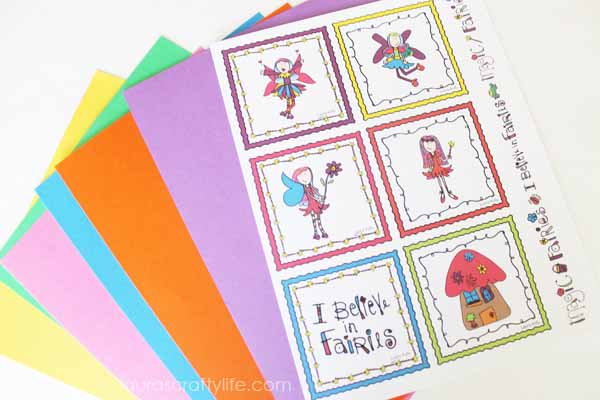Square fairy cards from Shop Laura Kelly
