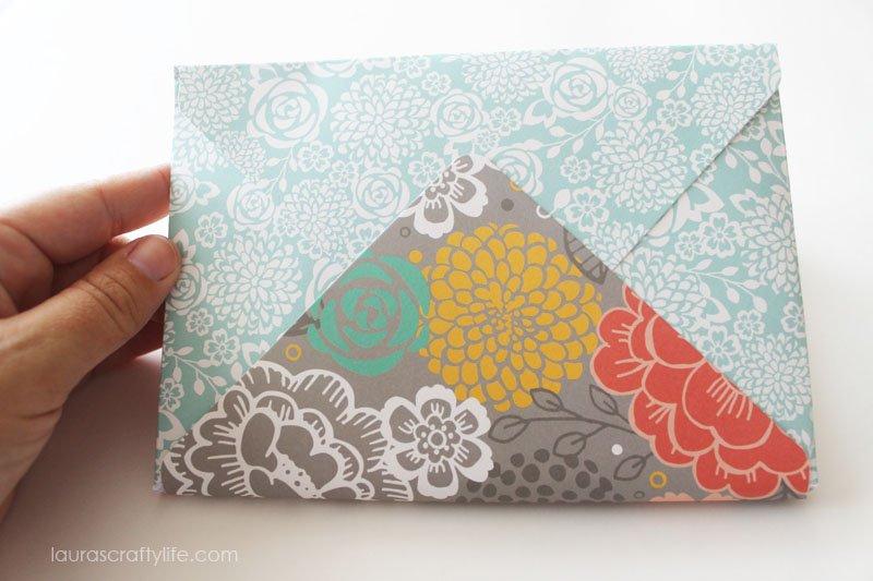 Back of envelope mini album
