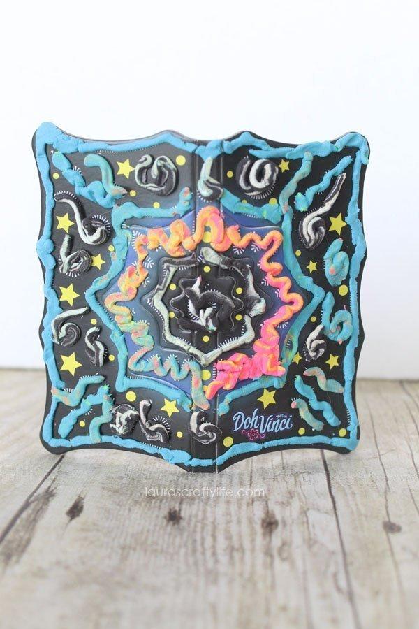 DohVinci Color Mixer Pop-up Art - Laura's Crafty Life