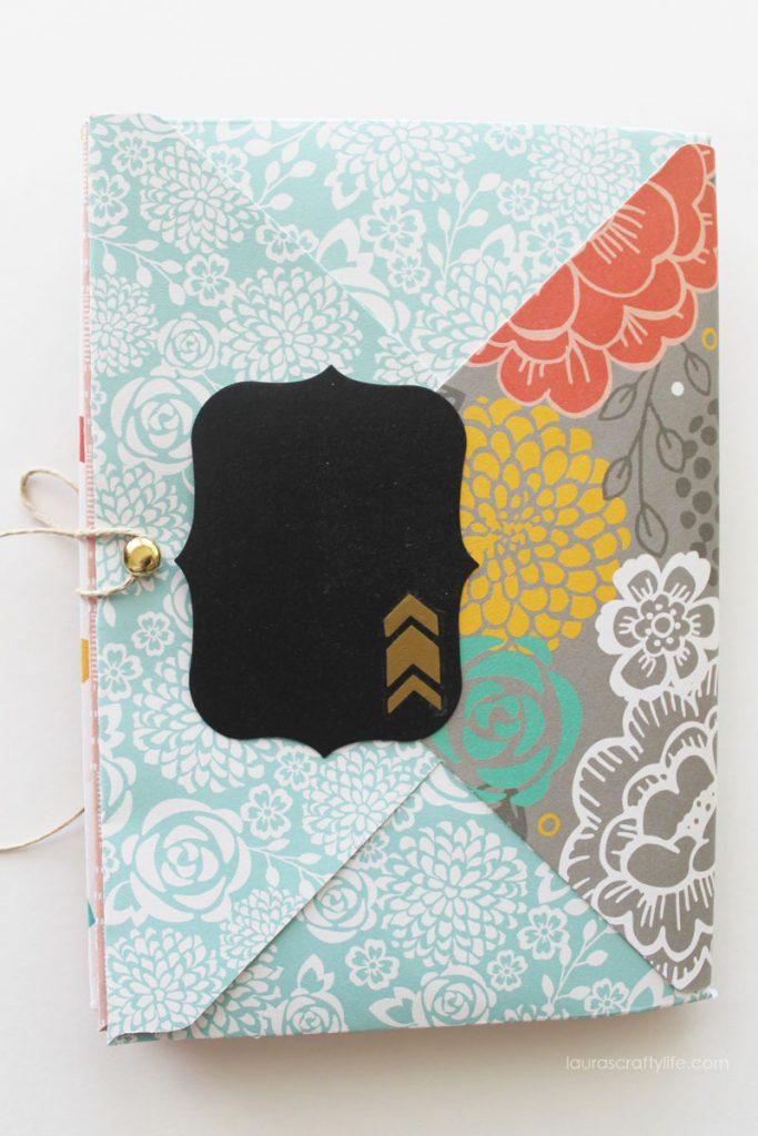 Envelope Mini Album - Back Cover