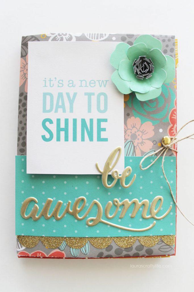 Envelope Mini Album - Be Awesome! - Laura's Crafty Life