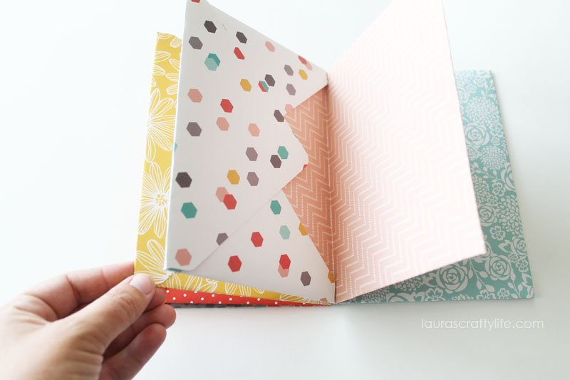Envelope Mini Album - Laura's Crafty Life