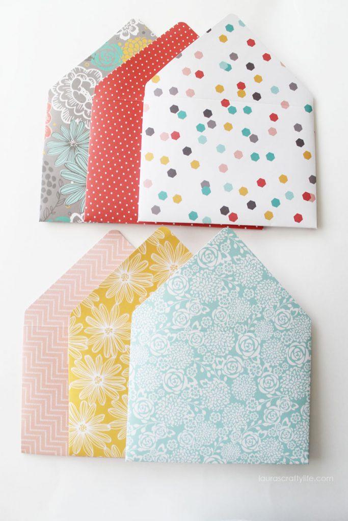 Envelopes created for mini album