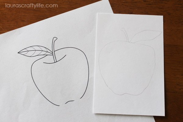 Use coloring page as a template