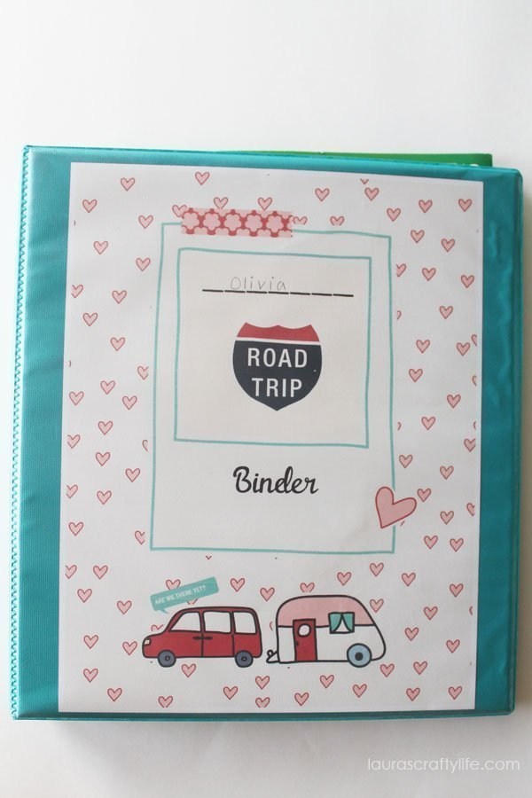 Road Trip Binder Lauras Crafty Life