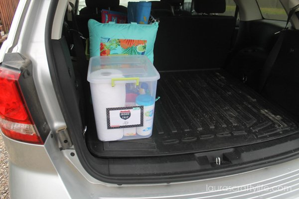 Easy Clean Up Road Trip Tips