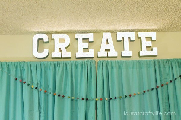 Heidi Swapp Marquee Love Letters - Create - Laura's Crafty Life