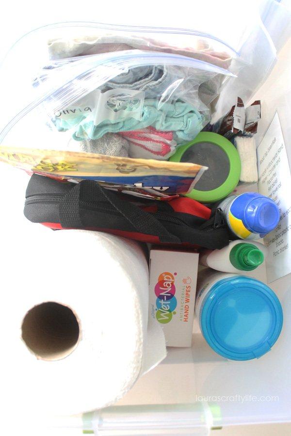 Packed Road Trip Kit