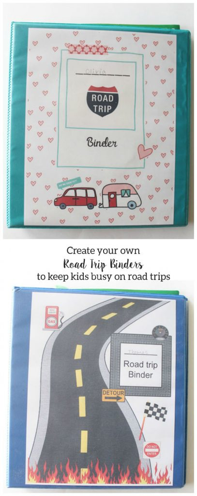 Road Trip Binders - Laura's Crafty Life
