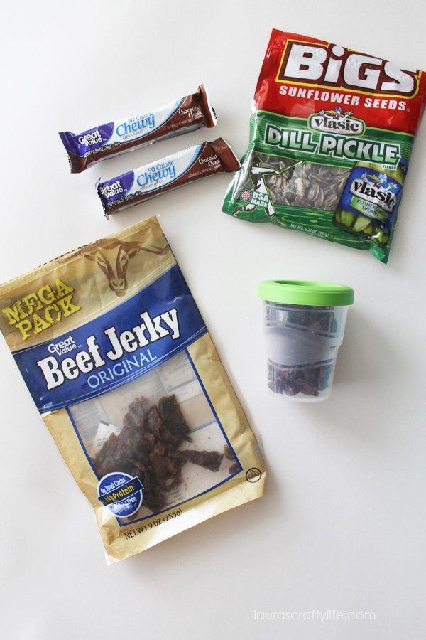 Snacks for Road Trip Kit