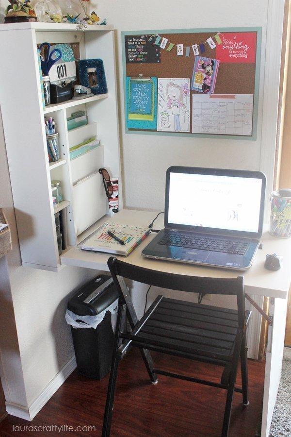 Project Organize - Create a command center - Laura's Crafty Life