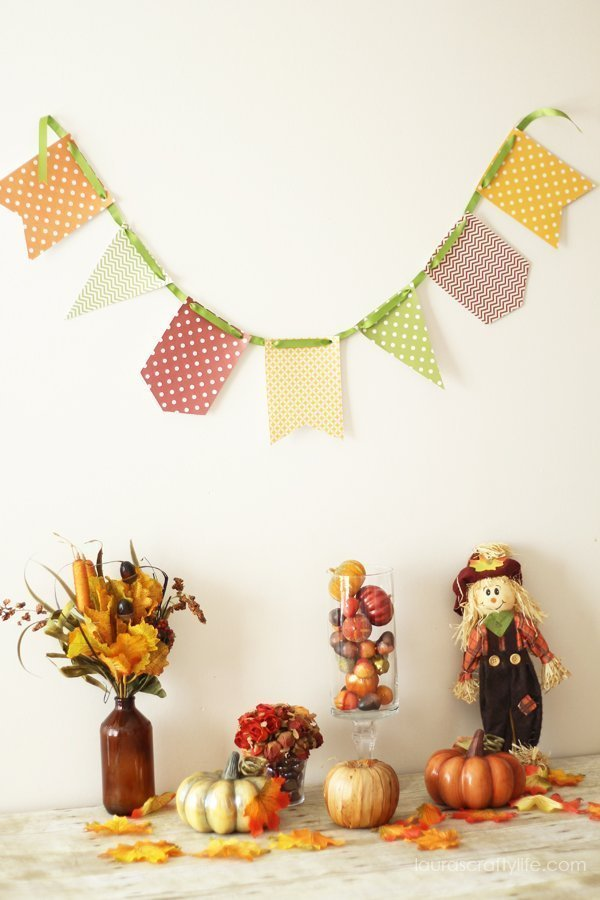 September Fall Banner - Laura's Crafty Life
