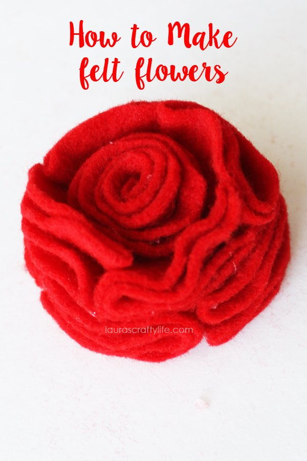 Tutorial - How to Make Felt Flowers