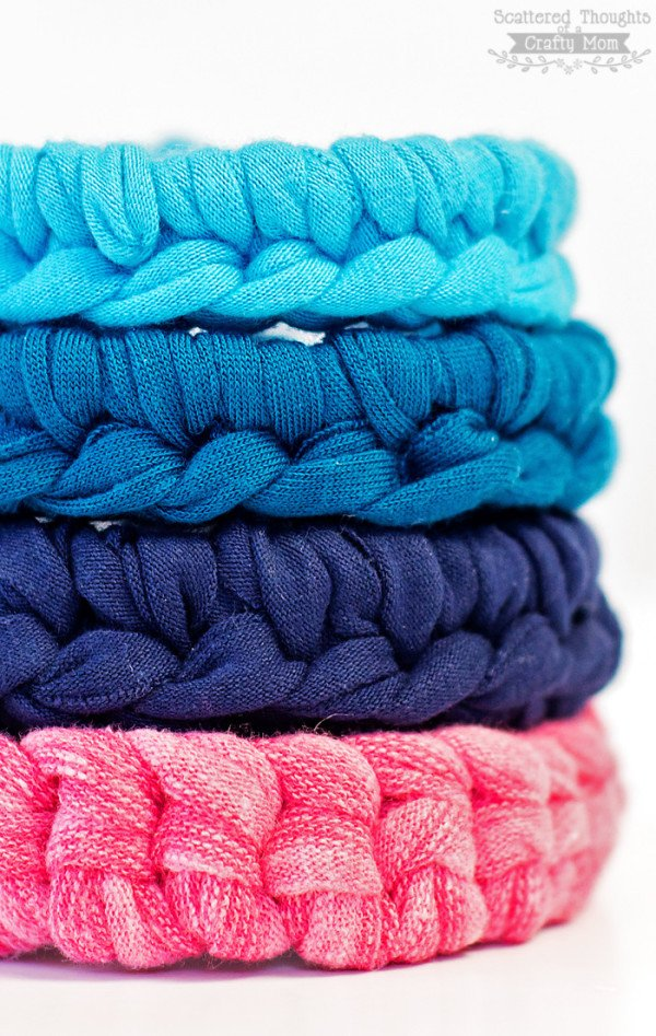 simple crocheted bracelets