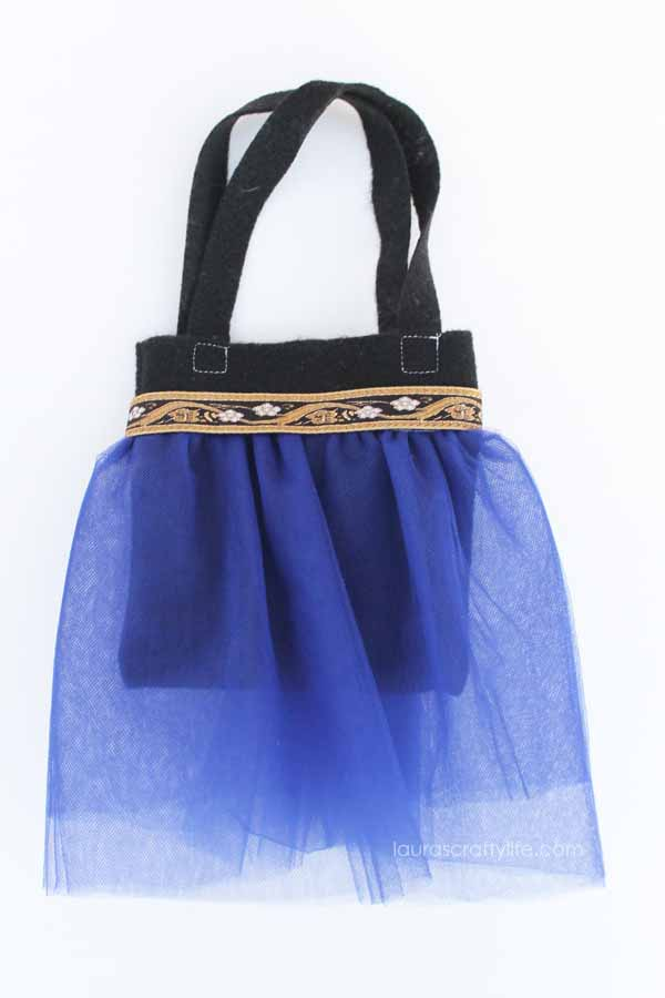 Anna princess tutu bag tutorial