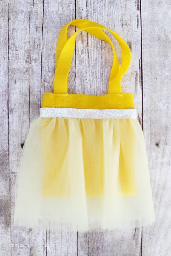 Belle princess tutu bag tutorial