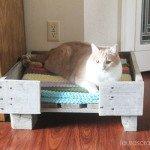 DIY Pallet Cat Bed