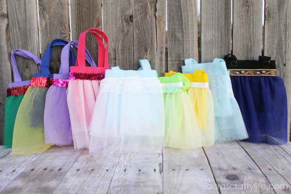 Disney Princess tutu bag tutorial - Laura's Crafty Life