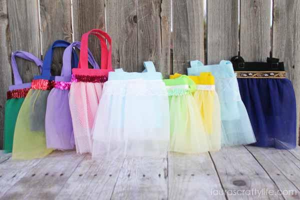 Disney Princess tutu bag tutorial - Laura's Crafty Life