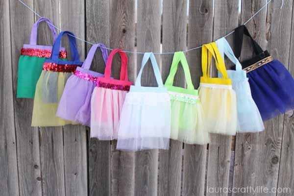 Disney Princess tutu bags tutorial - Laura's Crafty Life