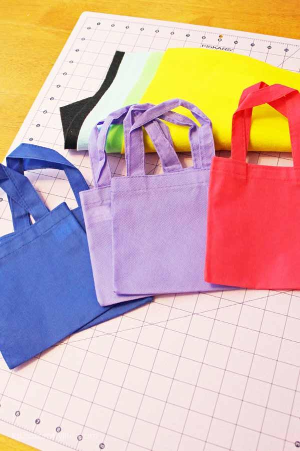 Supplies to make tutu bags