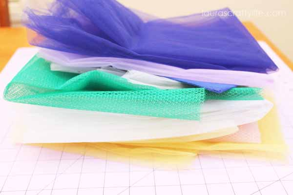 Tulle for tutu bags
