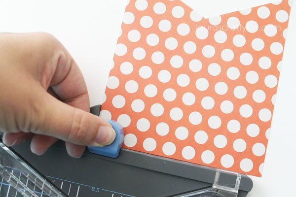 Use hole punch on We R Memory Keepers Punch Board