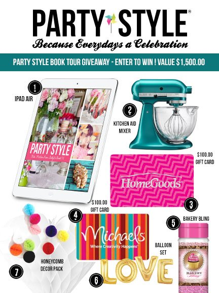 0 Book Tour Giveaway Party Style Gemma Touchstone
